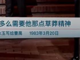 《见字如面(20161229)》第一季第一期的经典台词/语录