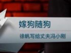 嫁狗随狗(徐帆写给丈夫冯小刚)