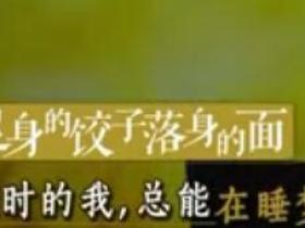 阅读阅美:起身的饺子落身的面