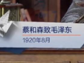 蔡和森致毛泽东(1920年8月)见字如面
