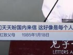 我们天天盼国内来信,这好像是每个人的通病(俞剑红致父母 1985年1月18日)见字如面