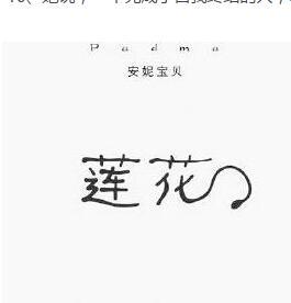 《莲花》的经典语录/语句/名言